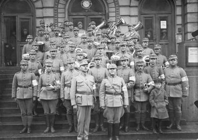 1194N92 Hgin ja Porvoon skpiirien soittokunta 1926