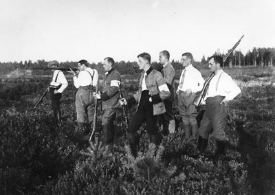 1208N92 Hgin skpiiri Ampumakoulutus kivaariammunta 1920 luku