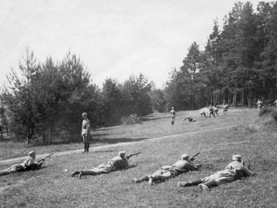 Hgin skpiiri Ampumakoulutus kivaariammunta 1920 luku