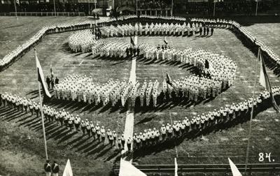 SK Voimistelujuhla Helsingissa vuonna 1930